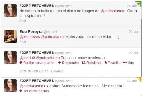 Y las primeras que escucharon LA MALANCA dijeron #LaMalanca