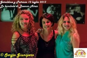 Geraldine y Patricia all'Aldobaraldo 12 luglio 2013