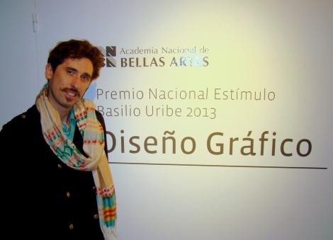 Premio Basilio Uribe para Sebastian Gallo por el Arte del Disco LA MALANCA