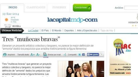 Prensa - La Capital MdP